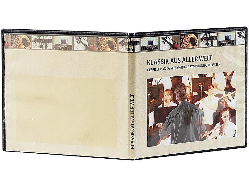pearl cd leerbox cd slim soft boxen im 10er set 7 mm schwarz cd softbox. Black Bedroom Furniture Sets. Home Design Ideas