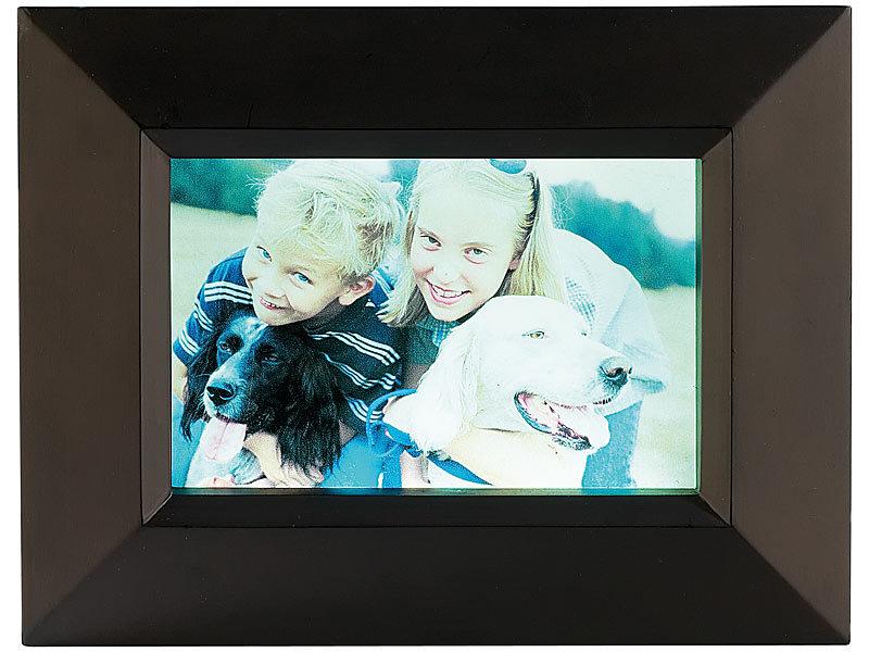 Your Design Leucht-Bilderrahmen für Foto bis 13 x 13 cm