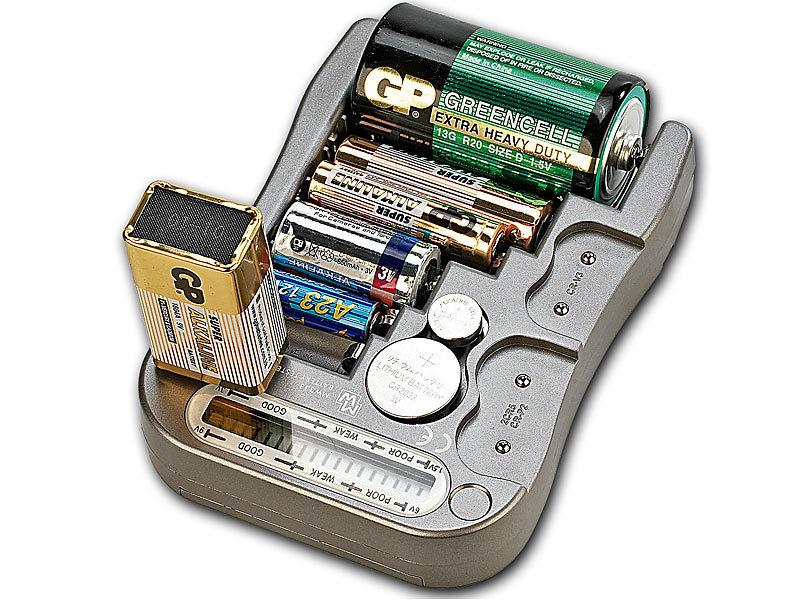 tka batteriepr fer digitaler profi batterietester mit lcd anzeige batteriepr fger t. Black Bedroom Furniture Sets. Home Design Ideas