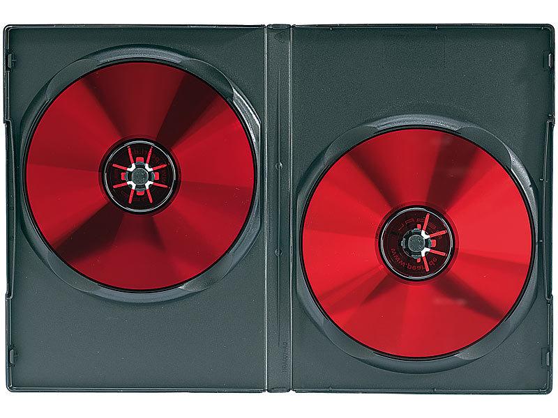 pearl case f r cd dvd doppel cd dvd h llen schwarz 10er pack dvd leerh llen. Black Bedroom Furniture Sets. Home Design Ideas