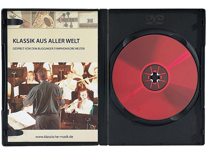 pearl cd dvd boxen 50 dvd cd soft h llen schwarz cases f r cds dvds. Black Bedroom Furniture Sets. Home Design Ideas