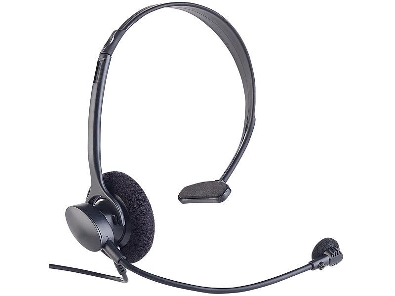 callstel headset westernstecker profi telefon headset. Black Bedroom Furniture Sets. Home Design Ideas