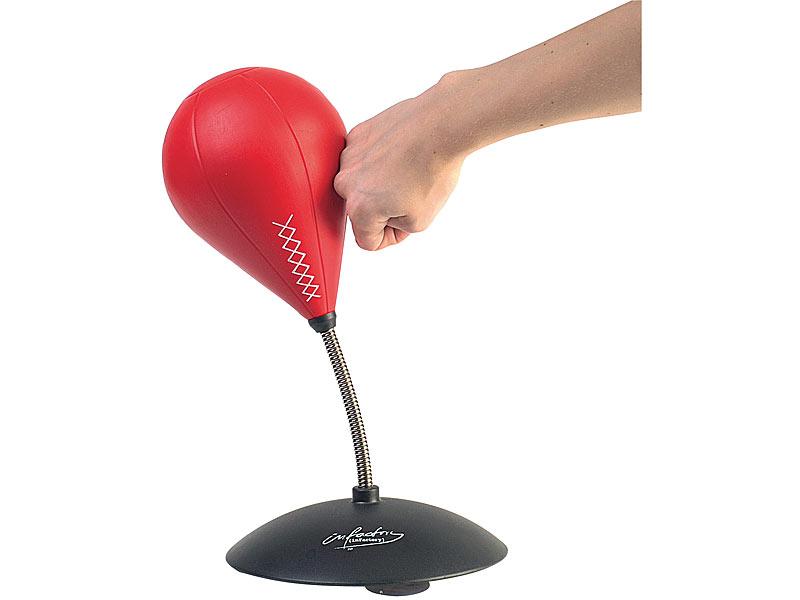 Infactory Tisch Boxsack Tisch Punching Ball Mit Sound Punchingball