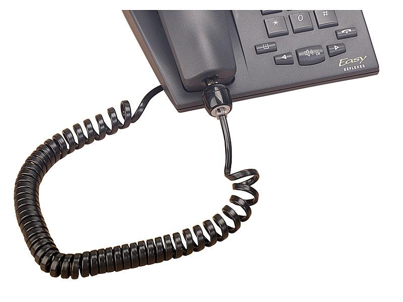 Callstel Telefonkabel Entwirren: Verdrehschutz für Telefonkabel ...