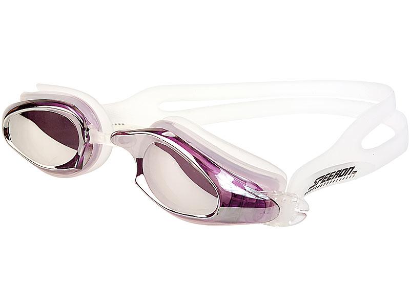 Speeron Taucherbrille Verspiegelte Profi Schwimmbrille Schutzbrille