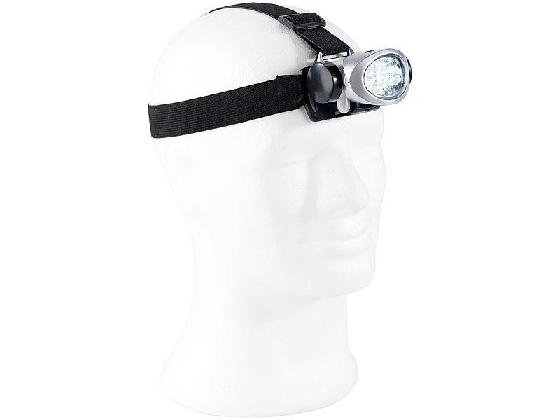 Stirnlampe mit 8 LEDs