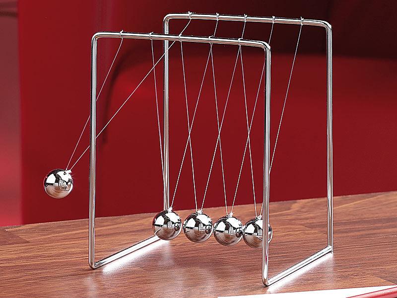 Newtons Wiege Kugelstosspendel Kugelspiel Pendel Metall Balance Ball Dekoration