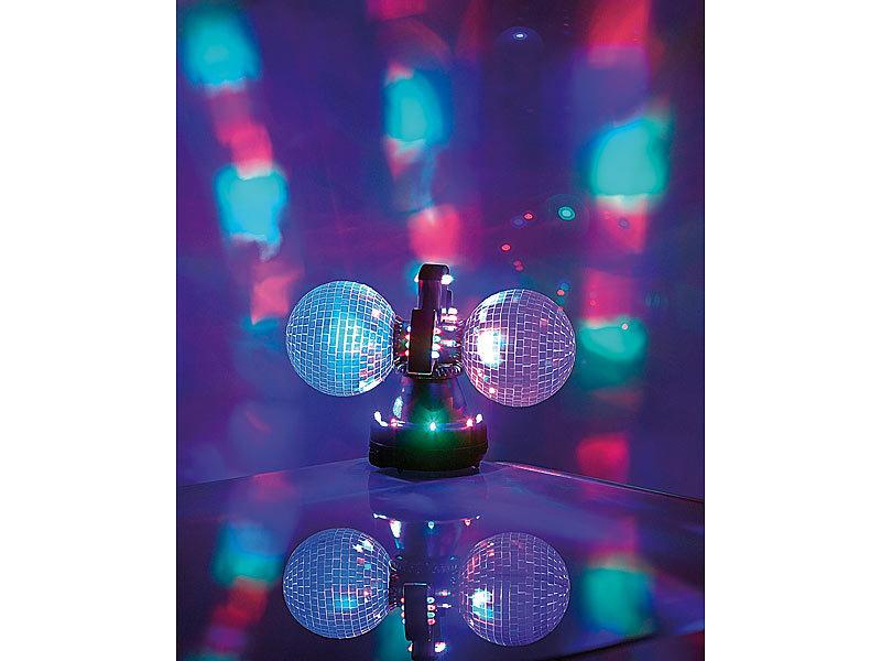 moderne discokugel mit rgb leds. eine kleine discokugel fr ...