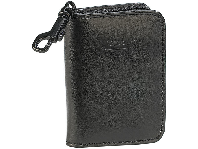 xcase tasche f r akkus batterien und speicherkarten. Black Bedroom Furniture Sets. Home Design Ideas