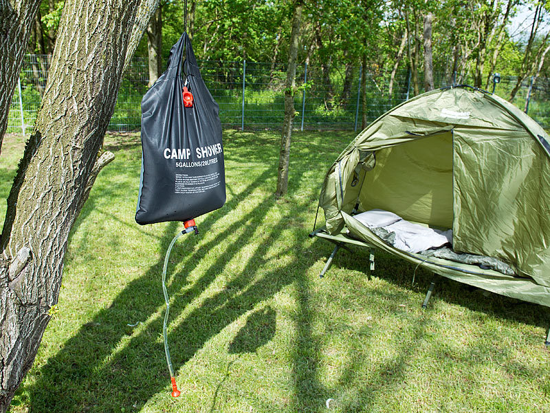 semptec campingdusche solar garten und camping dusche. Black Bedroom Furniture Sets. Home Design Ideas