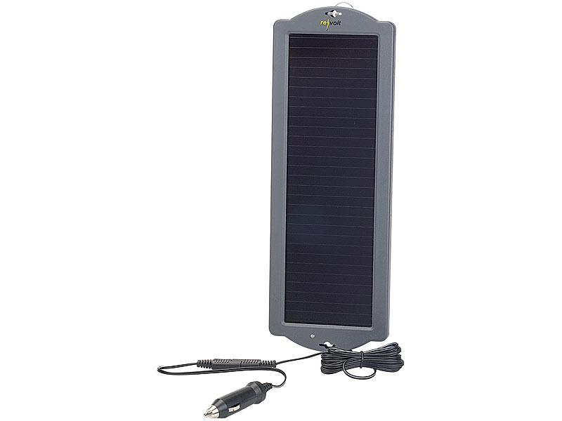 revolt solarpanel 12v erhaltungs solarger t f r auto pkw batterie 12v 1 5w solarpanel f r. Black Bedroom Furniture Sets. Home Design Ideas