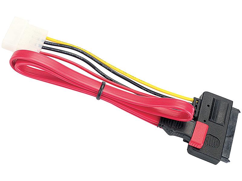 """SATA Anschlusskabel """"All-in-One"""" (Daten- und Stromkabel)"""