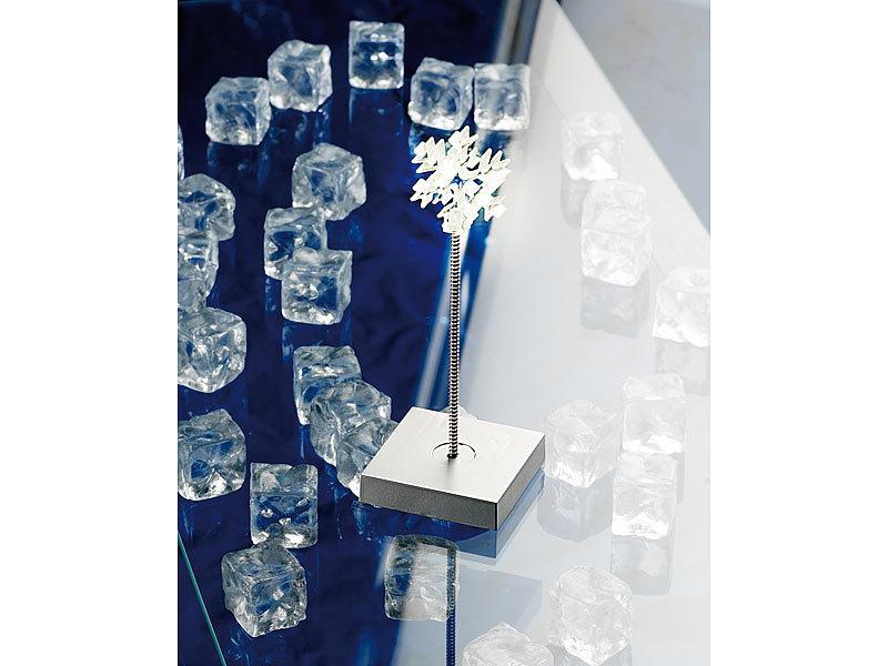 Lunartec deko artikel led dekoleuchte eiskristall mit for Design deko objekte