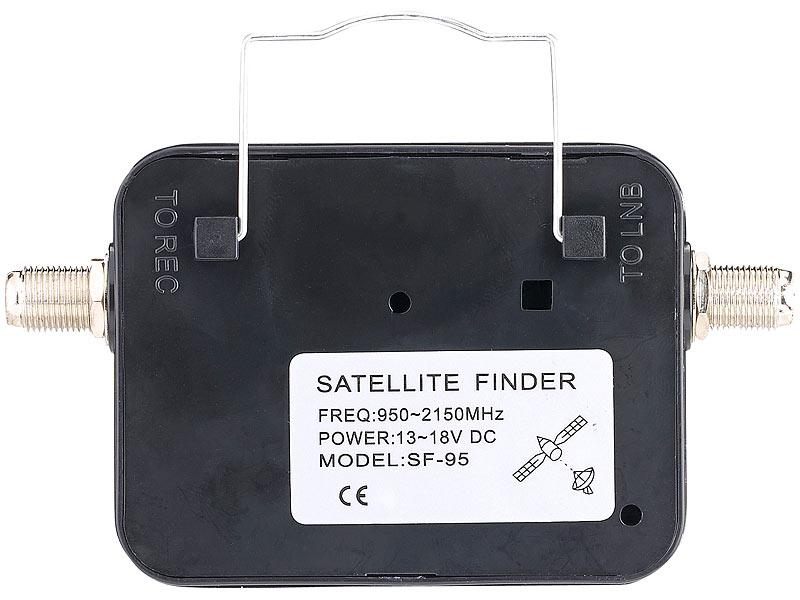 Esosat Satellitenfinder Satelliten Finder Mit Analoger Pegelskala