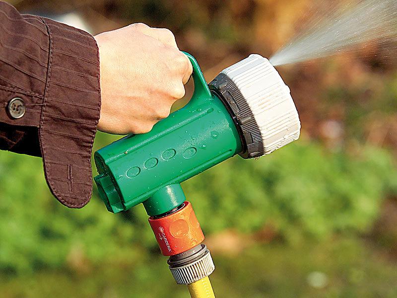 Royal Gardineer Schlauch Brause 2in1 Bewasserungssystem Zum Giessen