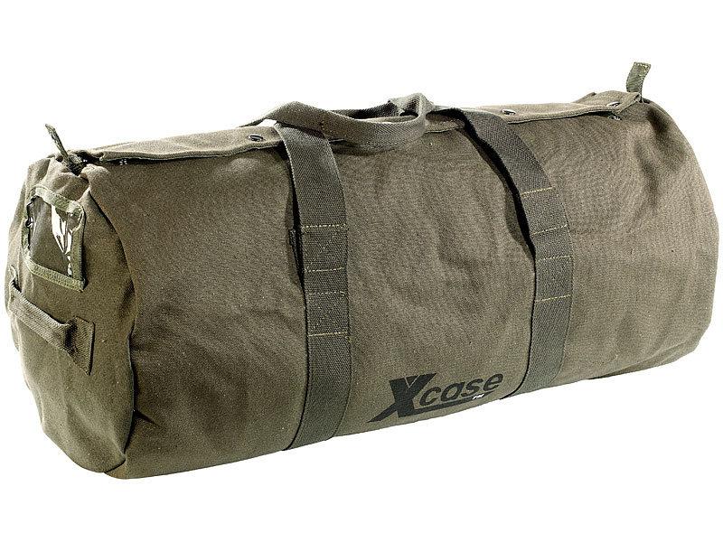 xcase canvas sporttasche reisetasche 70 liter. Black Bedroom Furniture Sets. Home Design Ideas