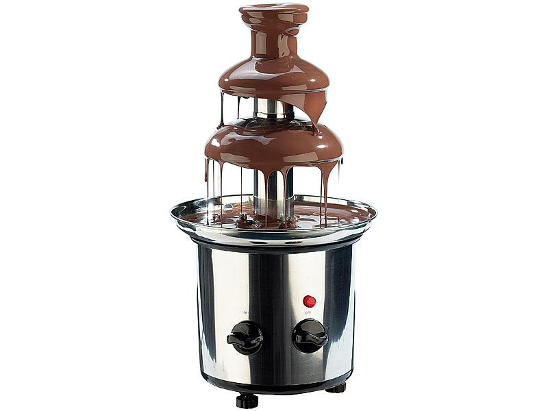 rosenstein s hne schokoladen brunnen aus rostfreiem edelstahl 170 watt. Black Bedroom Furniture Sets. Home Design Ideas