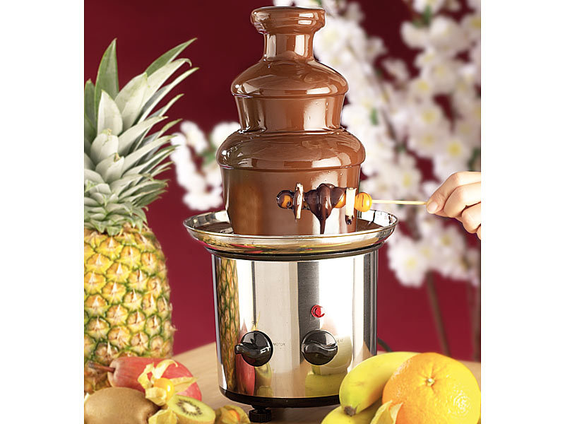 rosenstein s hne schoko fondues schokoladen brunnen versandr ckl ufer schokoladenbrunnen. Black Bedroom Furniture Sets. Home Design Ideas