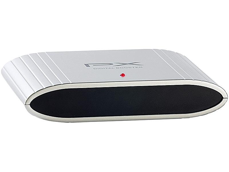 freetec dvb t antennen verst rker 12db mit 4 ausg ngen. Black Bedroom Furniture Sets. Home Design Ideas