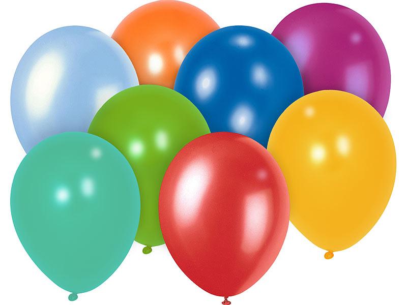 Playtastic Ballon 100er Megapack Bunte Luftballons Bis 30 Cm