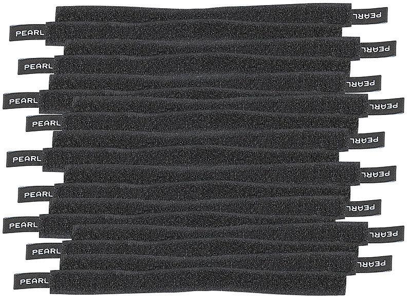PEARL Kabelhalter: Klettverschluss-Kabelbinder, 20 Stück (Binder für ...