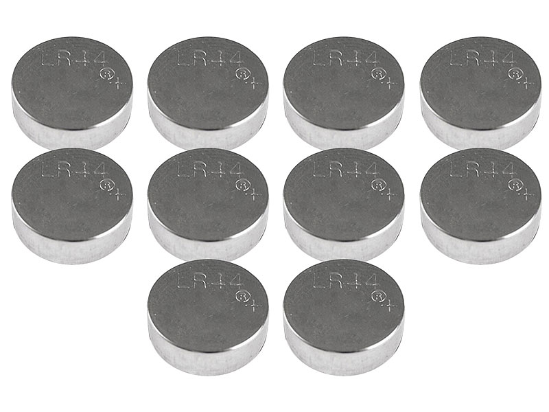 10 Stück Alkaline Knopfzellen Typ AG4