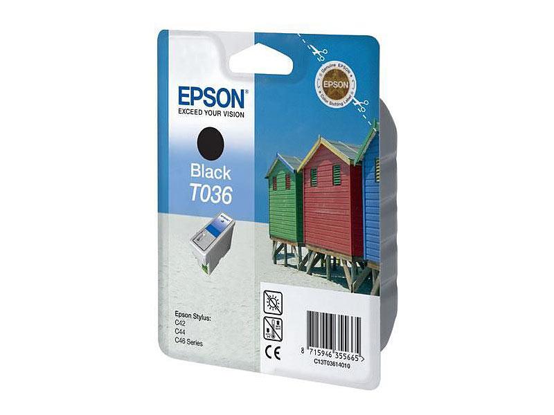 epson original tintenpatrone t036140 black. Black Bedroom Furniture Sets. Home Design Ideas