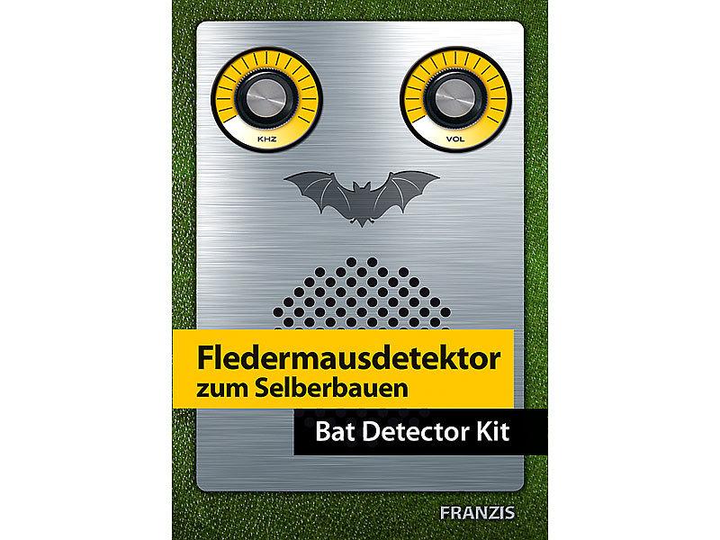 franzis fledermausdetektor zum selberbauen. Black Bedroom Furniture Sets. Home Design Ideas