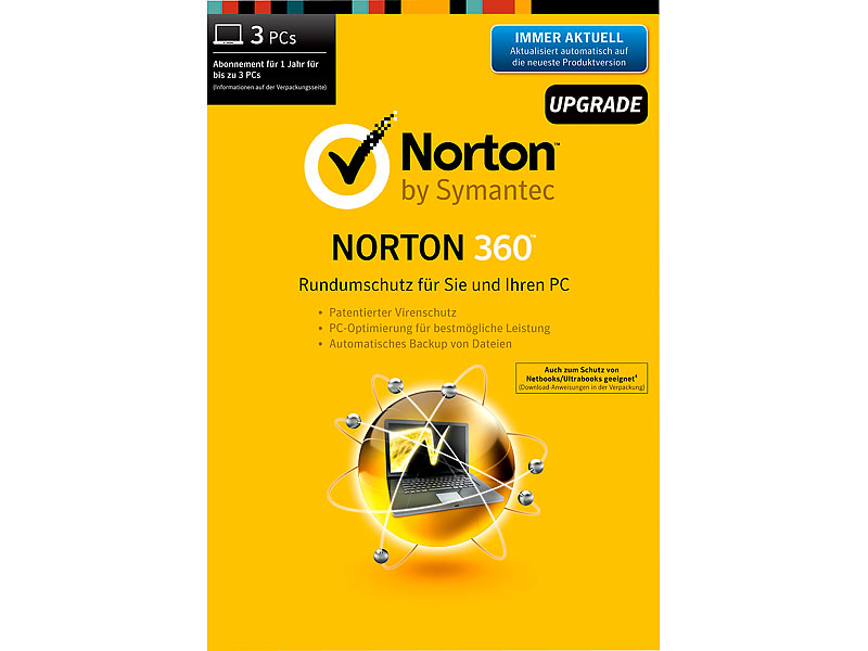 Norton Standard Latest / 3 PC / 2 Year License / Antivirus (Including Antivirus) 3 Devices, 27 Months License Card (Windows pc only) Have been waiting to snag a deal, but this.