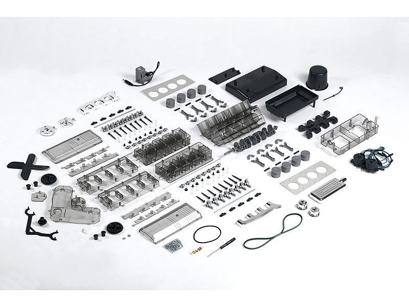 franzis das franzis lernpaket v8 motor. Black Bedroom Furniture Sets. Home Design Ideas