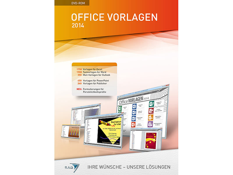 s a d office vorlagen 2014