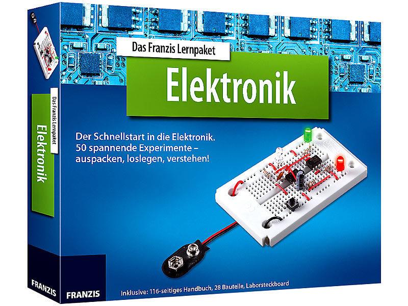 FRANZIS Elektronik Baukasten: Das Franzis Lernpaket Elektronik ...