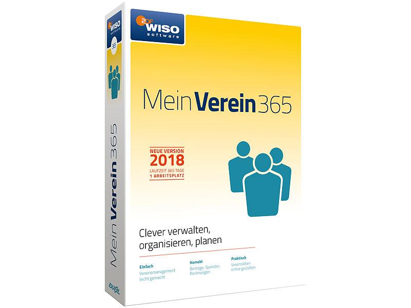 Wiso Buchhaltungsprogramm Mein Verein 365 Neue Version 2018