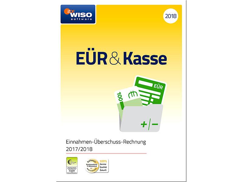 Wiso Pc Software Buchhaltung Eür Kasse 2018