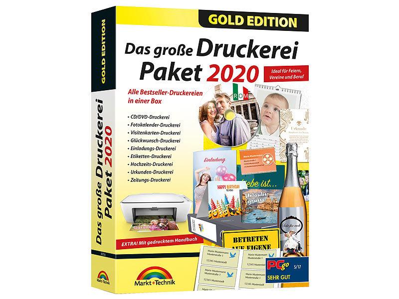 Mut Drucksoftware Das Große Druckereipaket 2020 Gold