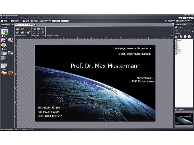 Mut Druck Vorlage Softwares Visitenkarten Druckerei 8 5