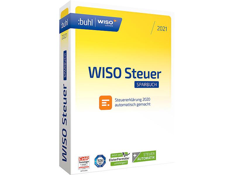 WISO Steuer (PC-Software): steuer:Sparbuch 2021 (für das ...