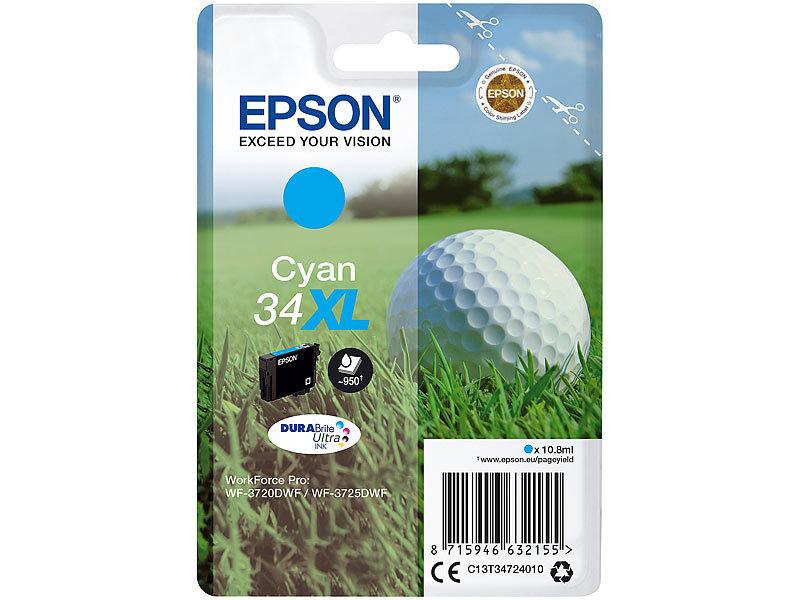 epson original tintenpatrone t3472 34xl f r epson drucker. Black Bedroom Furniture Sets. Home Design Ideas