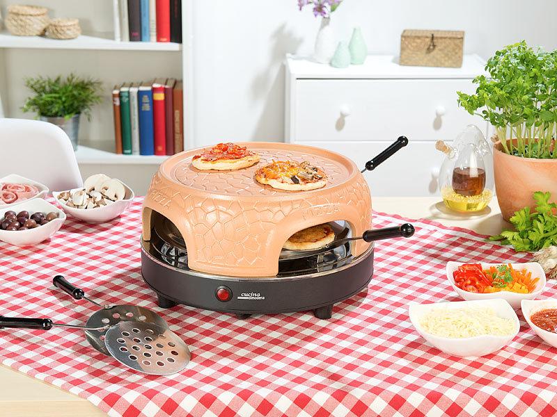 cucina di modena pizza steinofen pizzaofen mit echter terrakotta haube f r 4 personen. Black Bedroom Furniture Sets. Home Design Ideas