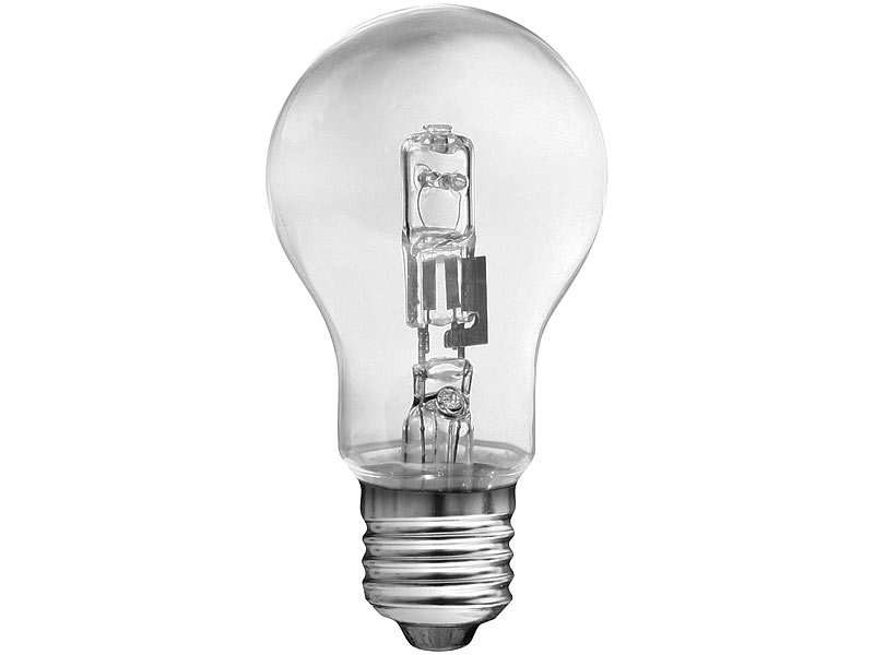 halogen lampe e27 42 watt. Black Bedroom Furniture Sets. Home Design Ideas