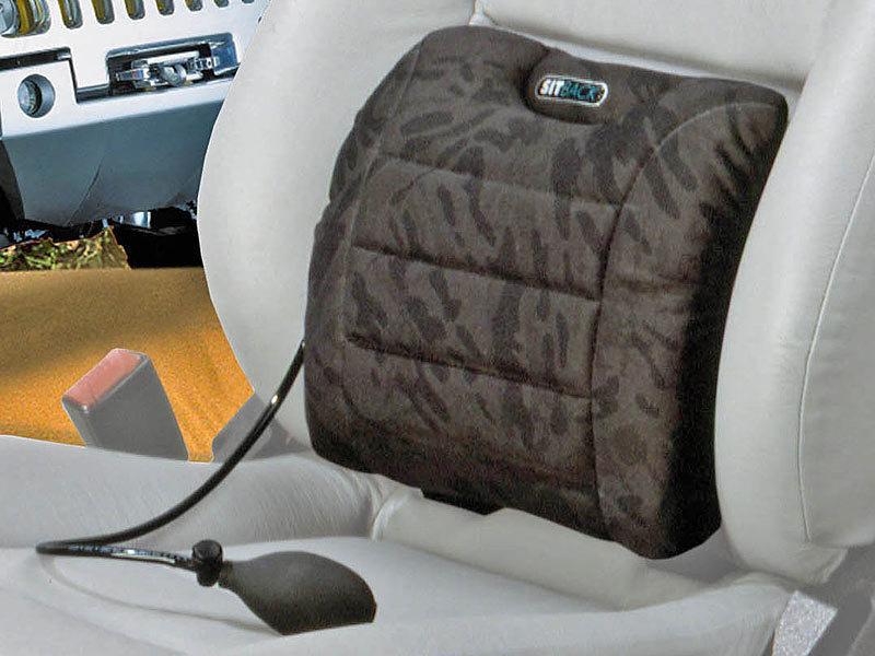 sitback air auto r ckenst tze mit luftkissen