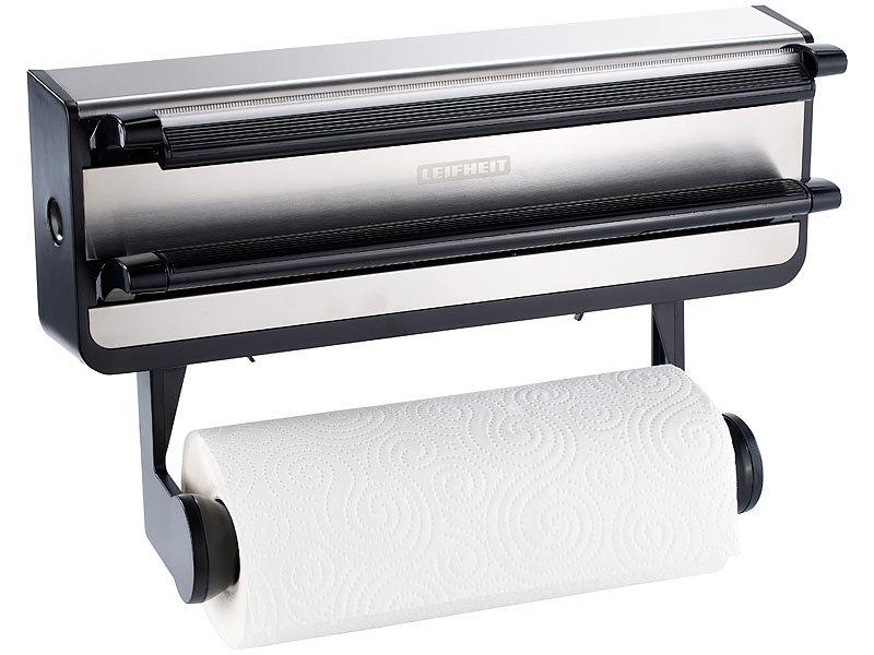leifheit wand rollenhalter pro line f r papier alu und folienrolle. Black Bedroom Furniture Sets. Home Design Ideas