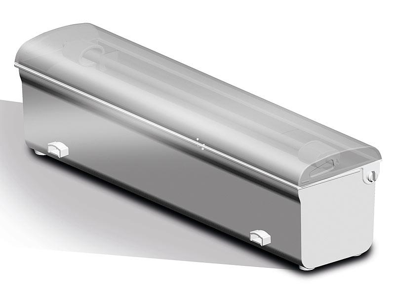 caso 1390 balken vakuumierer vc 200 mit cutter und folienbox. Black Bedroom Furniture Sets. Home Design Ideas