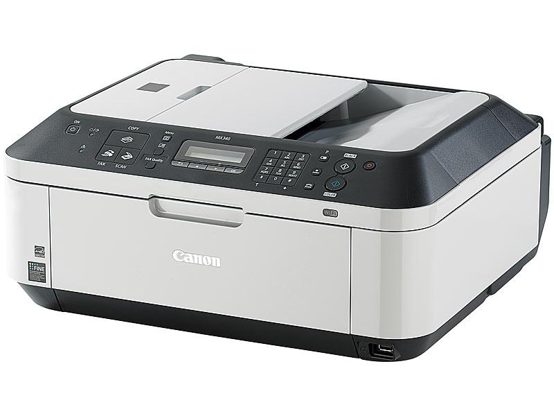 canon all in one drucker pixma mx340 drucker scanner. Black Bedroom Furniture Sets. Home Design Ideas