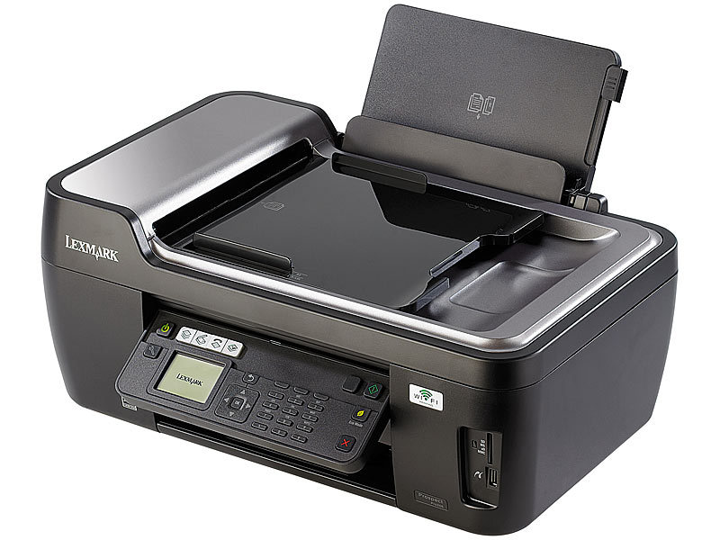 lexmark all in one drucker prospect pro205 scanner kopierer fax wlan. Black Bedroom Furniture Sets. Home Design Ideas