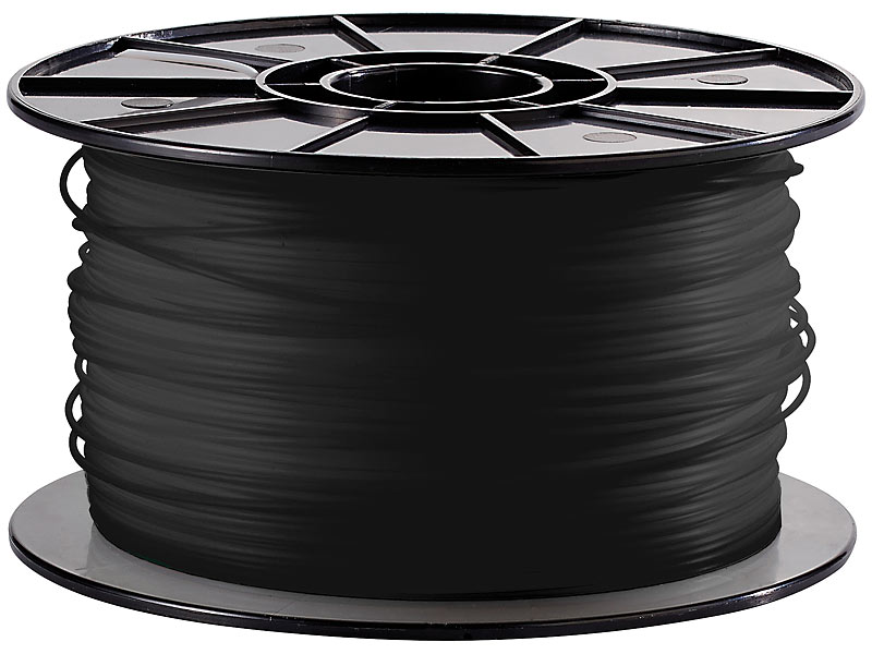 freesculpt abs filament f r 3d drucker mm 1kg schwarz. Black Bedroom Furniture Sets. Home Design Ideas