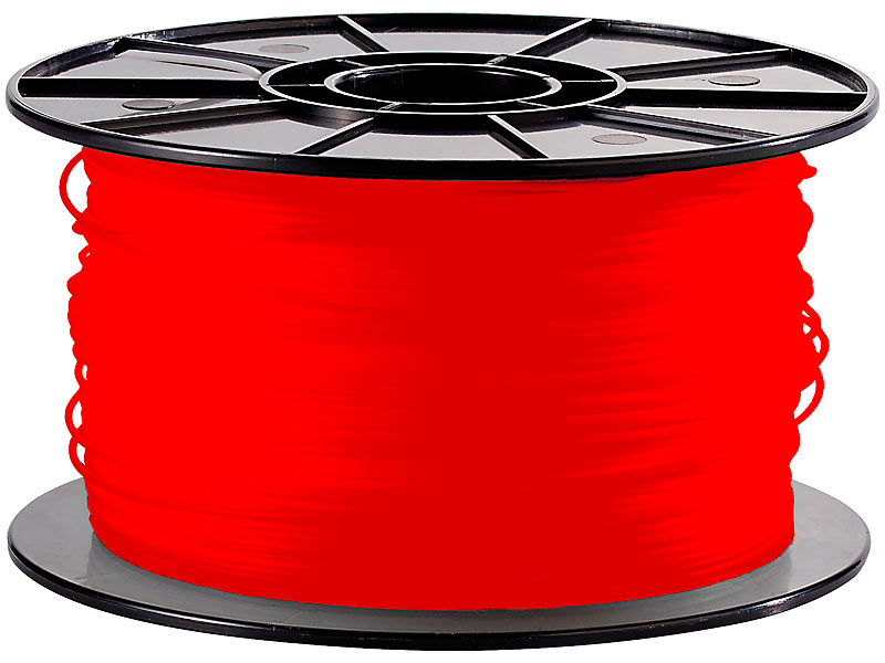 freesculpt abs filament f r 3d drucker mm 1kg rot. Black Bedroom Furniture Sets. Home Design Ideas