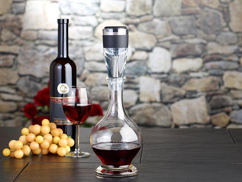 Wein Dekanter rosenstein söhne formschöner wein dekanter