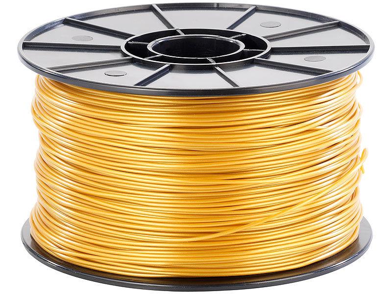 freesculpt pla filament f r 3d drucker 1kg gold. Black Bedroom Furniture Sets. Home Design Ideas