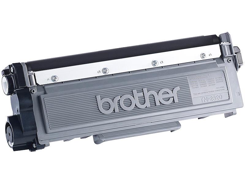 brother original toner tn 2320 black. Black Bedroom Furniture Sets. Home Design Ideas